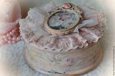 """Купить Подарочный набор """"Розовые сны"""".Винтаж - бледно-розовый, шебби-шик, винтаж, декпаж"""
