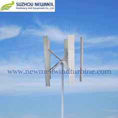 Horizontal wind turbine Marine Wind Turbine /Vertical Wind Turbine X-H-500W Vertical Wind Turbine, Wind Direction