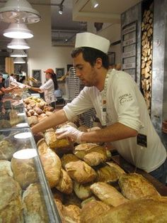 eataly, bought bread there the other day