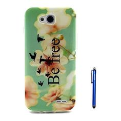LG L70 Case,Vfunn Premium TPU Gel Scratch Resistant Slim Fit Funny Cartoon Case Cover for LG Optimus L70 with 1 Screen Protector 1 Clean Cloth Cleaner 1 Blue Stylus Pen (LG L70) (Be free) Vfunn http://www.amazon.com/dp/B00RWLYB8C/ref=cm_sw_r_pi_dp_nAb8ub11J7KAN