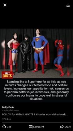 Daily Facts, Cortisol, Interview, Superhero