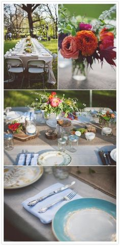 the plates WILL be mix matched at my wedding :)
