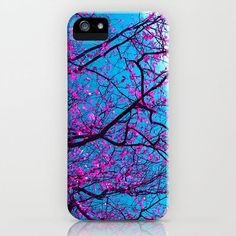 purple tree XV iPhone & iPod Case by Blackpool