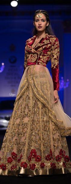 Falguni & Shane Peacock at BMW India Bridal Fashion Week 2014