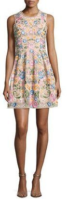 Needle & Thread Floral-Embellished Sleeveless Prom Dress Blossom Pink #prom