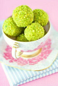 pistachios truffles!