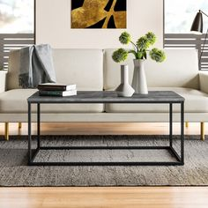 Wade Logan® Isabell Bar with Wine Storage & Reviews | Wayfair All Modern, Modern Decor, Living Room Essentials, Contemporary Coffee Table, Contemporary Design, Coffee Table With Storage, Coffee Tables, Simple Coffee Table, Counter Stools