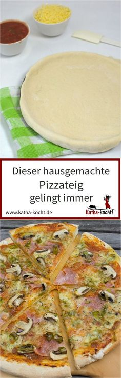 Du suchst ein ganz einfaches Rezept für einen selbst gemachten Pizzateig der immer gelingt? Dann ist dieses Rezept genau das Richtige für dich - schau vorbei auf katha-kocht!