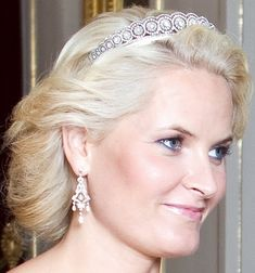 Tiara Mania: Crown Princess Mette Marit of Norway's Diamond Daisy Tiara