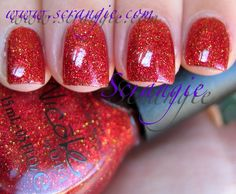 Scrangie: New Nicole by OPI Glitters for Holiday 2011 Swatches and Review