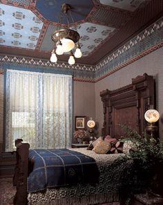 Bradbury & Bradbury Art Wallpapers > Victorian > The Morris Tradition > Fenway Roomset