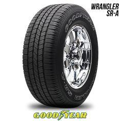 Goodyear Wrangler SR-A P 265/70R16 111S S2 OWL 265 70 16 2657016 50K Warranty