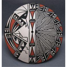 Native American Acoma Seed Pot