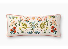 Embroidered blooms and budding twigs give this pillow from our Rifle Paper Co. × Loloi collection a lively and lovely look. Velvet Pillows, Throw Pillows, Wicker Picnic Basket, Vintage Cups, Rifle Paper Co, Lumbar Pillow, Pillow Inserts, Decorative Pillows, Cream