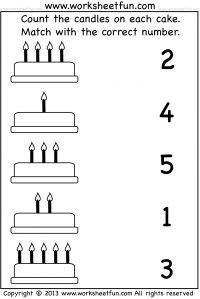 Number Counting Worksheets | Kindergarten Worksheets | Worksheets ...