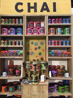Kolorowy Chai !  Te puszki mają charakter i nadają charakteru każdemu wnętrzu. Są piękne! Targi w Hamburgu INTERNORGA #WeBrew