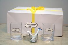 Boy-Or-Girl? Reveal Party.  cute ideas and free printables