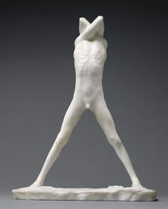 Adolescent I, 1891, George Minne. Marble. The J. Paul Getty Museum