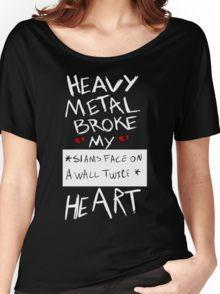 Fall Out Boy Centuries - Heavy Metal Broke My Heart Women's Relaxed Fit T-Shirt