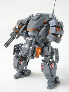 LEGO + Robot Models = Epic Awesome! Makes me really wanna build LEGO creations again!