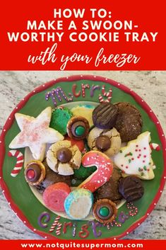 Make your cookie trays swoon-worthy using our favorite baking trick, the freezer! Freezing cookie dough is easy this baking hack will save you time! Frozen Cookie Dough, Frozen Cookies, Cookie Tray, Shaped Cookie, Christmas Baking, Christmas Cookies, Cookie Recipes, Dessert Recipes, Desserts