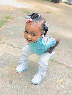 Cute Black Babies, Black Baby Girls, Beautiful Black Babies, Cute Baby Girl, Cute Little Girls, Black Baby Girl Hairstyles, Natural Hairstyles For Kids, Kids Braided Hairstyles, Toddler Hairstyles