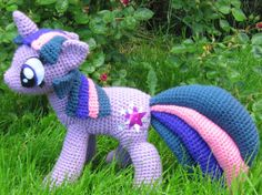 Twilight Sparkle crochet plush pattern.