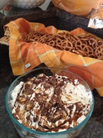 My friend Renee shared this recipe at a recent Graduation party.  Youll make it Youll love it Everyone will want the secret recipe Youll learn to hide some for later, because it will disappear fast!