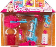Barbie Accessories - Cleaning Time on Sale Barbie Kids, Barbie Dolls Diy, Doll Clothes Barbie, Barbie Stuff, Barbie Dream, Beautiful Barbie Dolls, Barbie Furniture, Vintage Barbie, Barbie Chelsea Doll