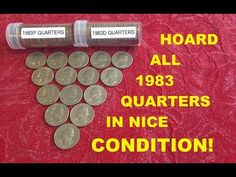 Check Your Change for This Common 1983 Quarter Worth Big Money. Hoard Them Now! Old Coins Worth Money, Old Coins Value, Valuable Coins, All Currency, Coin Worth, Error Coins, Coin Values, Coin Grading, Show Me The Money