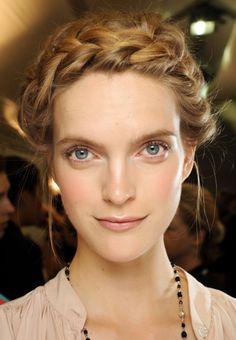Le plein d'idées de tresses pour des coiffures de déesse : Album photo - aufeminin