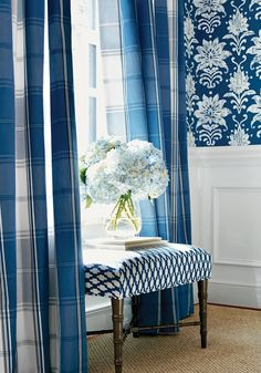 Lee Caroline - A World of Inspiration: Introducing the Stunning new Bridgehampton Range of Fabrics and Wallpapers by Thibaut