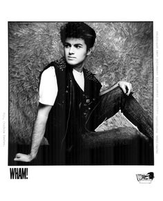 Wham! Press Photo  Innervision Records   Photo by Chalkie Davies
