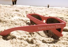 Sigma Delta Tau sunglasses - 2 of my fav things, the beach and sdt