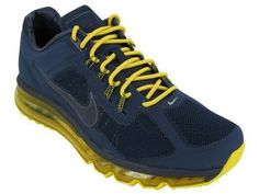 Nike Men's NIKE AIR MAX 2013+ EXT RUNNING SHOES on Sale