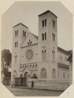 Kathedraal aan de Gravenstraat.