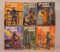 Planet of the Apes model kits. (Addar, 1970s)