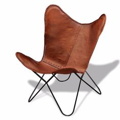 Colour Brown Material Real leather upholstery powdercoated iron frame Dimensions 73 x 73 x 88 cm W x D x H Seat width 58 cm Seat depth 50 cm Seat height ..., 1162842098