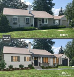 Weve come up with 18 predictions for 2020 exterior home design. That said as 2020 is quickly approaching its important to be aware of whats coming. Ranch Exterior, Modern Farmhouse Exterior, Exterior Remodel, Country Farmhouse, Farmhouse Decor, Farmhouse Design, Exterior House Colors, Exterior Design, Exterior Paint