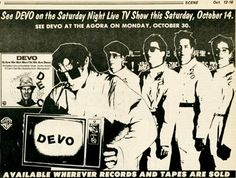 How gumption, stick-to-itiveness, and Neil Young got DEVO on 'Saturday Night Live' in 1978 | Dangerous Minds