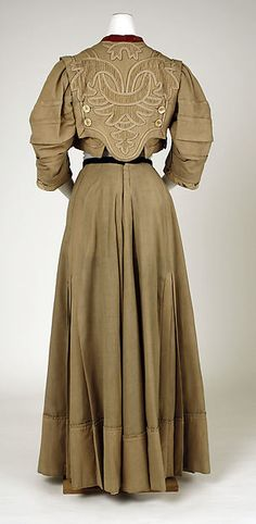 Suit, Design House: Raudnitz and Co. - Huet and Chéruit (French) Designer: Chéruit (French, 1906–1935) Date: ca. 1905 Culture: French Medium: wool, silk, cotton, linen