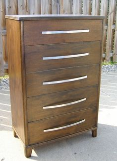 this is an amazing makeover from a thrifted dresser