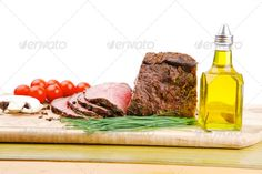 barbecue on wooden plate ...  american, baked, barbecue, bbq, beef, beefsteak, board, bottle, branch, buffalo, chives, chunk, cooking, far, fast, fillet, fine, fork, fresh, gold, greek, green, grilled, ham, lamb, meal, meat, mediterranean, mushroom, nobody, oil, olive, pepper, plate, pork, prepared, pure, recipe, red, refined, restaurant, roast, serving, spain, steak, tomatoes, white, wood, wooden, yellow