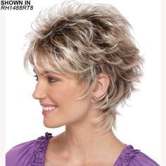 Startling Useful Tips: Wedding Hairstyles Brunette short pixie hairstyles.Boho Hairstyles Dreads women hairstyles over 50 photo galleries.Women Hairstyles Over 50 Photo Galleries. Short Hair Wigs, Cute Hairstyles For Short Hair, Trendy Hairstyles, Wig Hairstyles, Curly Hair Styles, Layered Hairstyles, Hairstyle Ideas, Feathered Hairstyles, Curly Wigs