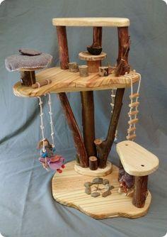 PlayTrees - Natural Wood Modular Play Environments