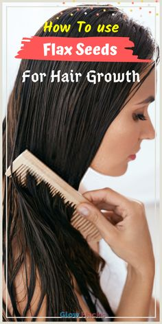 Flax Seeds For Hair Growth. Flaxseed is beneficial for both health and beauty. Flaxseeds are rich in protein, fiber, minerals, and vitamins. Natural Hair Growth Remedies, Home Remedies For Hair, Natural Hair Care, Extreme Hair Growth, Hair Growth Tips, Overnight Hair Growth, Overnight Hairstyles, Vitamins For Skin, Healthy Hair Tips