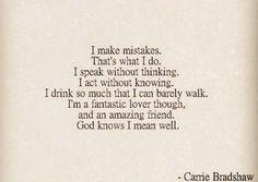 Carrie Bradshaws quote