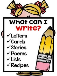 What Can I Write? (poster)
