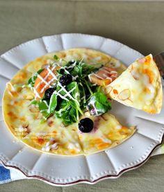초간단,달콤하고 고소한 크림치즈 꿀피자(또띠아피자 만들기) : 네이버 블로그