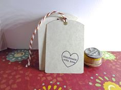 Blank Gift Tags DIY gift tags Buy a stamp and make by etchythings, $4.99
